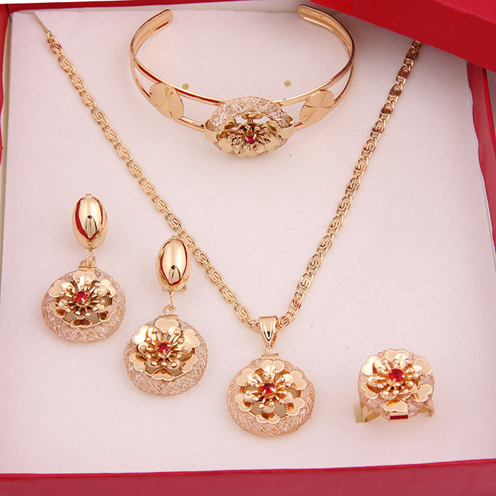 Wholesale african 18k gold plated costume jewelry sets for Is gold plated jewelry worth anything