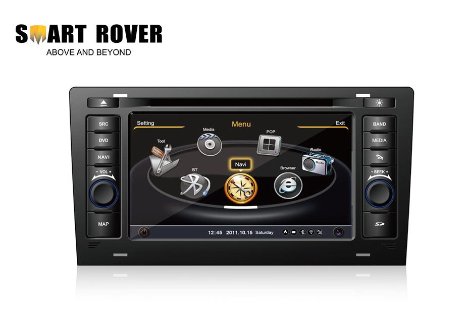 Автомобильный DVD плеер Smart-Rover S100 DVD GPS Navi Audi A8 S8 1994/2003 RDS Bluetooth TV iPod автомобильный dvd плеер oem dvd chevrolet cruze 2008 2009 2010 2011 gps bluetooth bt tv