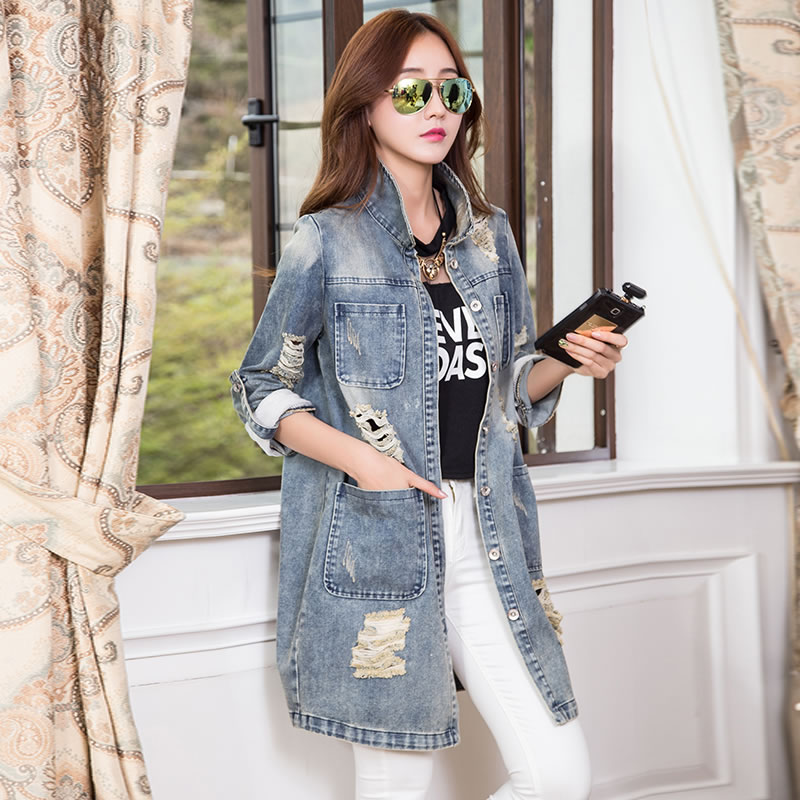 Denim jacket oversized - ChinaPrices.net