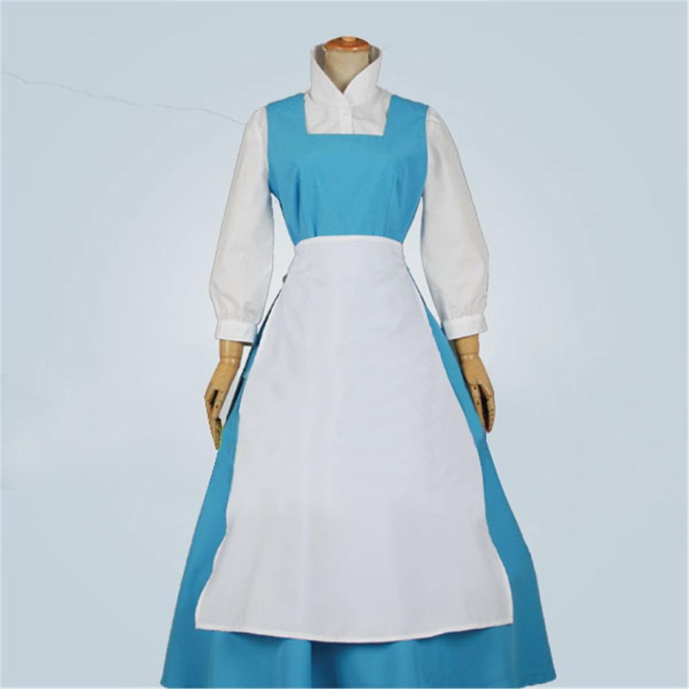 Belle Costume Blue Dress