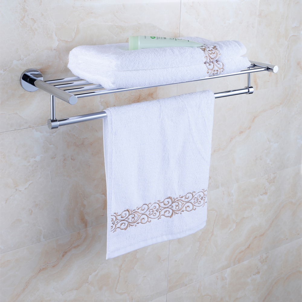 High quality fixed bath towel holder copper light grey - Bathroom towel holders accessories ...