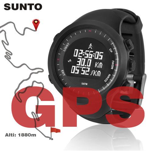 SUNTO running Men's sports watches GPS watch digital sailing 50M waterproof military 2015 men heart rate monitor altimeter hours(China (Mainland))