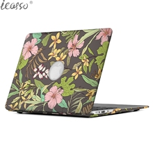Buy iCasso New Art Fashion PU Leather Coated Hard shell protective Case Cover Apple Macbook Pro Air 12 13 15 Inch case Sleeve for $16.20 in AliExpress store