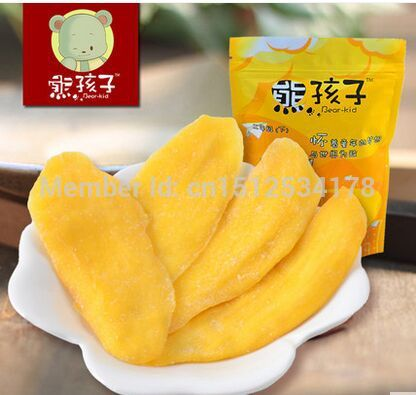 Xiong Haizi dried mango 120g Philippines flavor of dried fruit candied mango slices dried food<br><br>Aliexpress