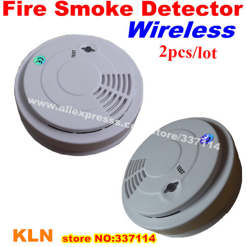 buy wireless 433mhz smoke detector fire alarm for house security 5 from. Black Bedroom Furniture Sets. Home Design Ideas