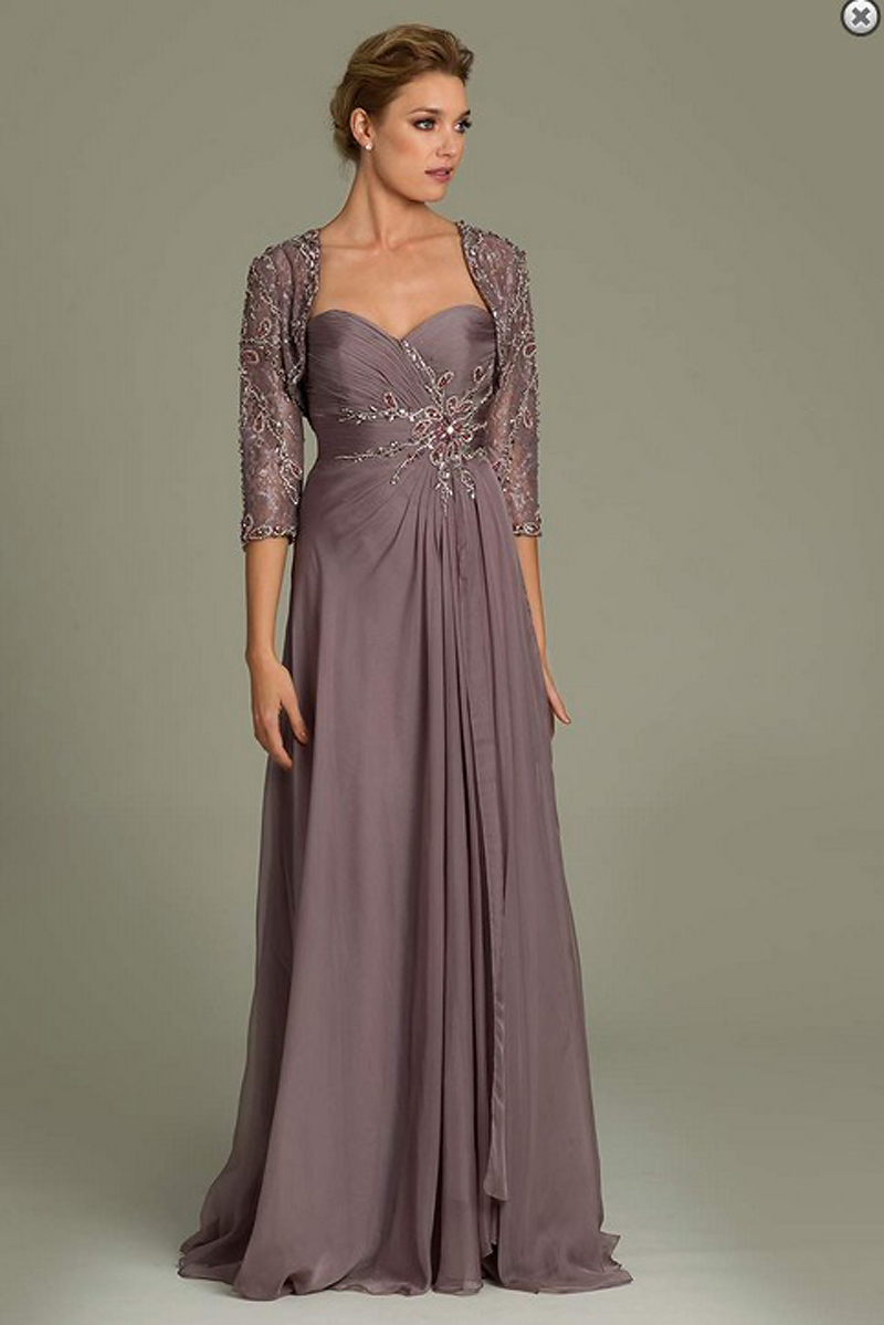 ... 2014-Free-Shipping-A-Line-Chiffon-Gray-Appliqued-Mother-of-the-Groom