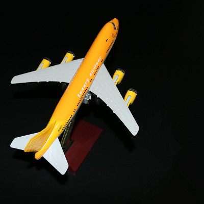 18.5cm Metal Pull Back Flashing Airplane Model Air Luxury Airliner Airways Plane Model W Stand Wheels Aircraft Kids Toy Gift(China (Mainland))