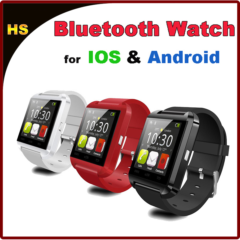 2015 Bluetooth Smart Watch WristWatch U8 U Watch for iPhone 4/4S 5/5S/5C 6/6 Plus Samsung HTC LG Smartphones Sync Call Message(China (Mainland))