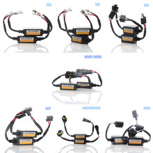 Buy 1set H1 H3 H4 H7 H8 H9 H11 H13 9005 9006 LED Headlight Canbus Error Free Anti Flicker Warning Resistor Canceller Decoder for $9.49 in AliExpress store