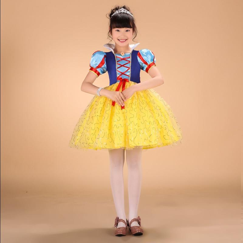 Aliexpress Com Buy Snow White Princess Dresses Children Princess Costume Printable