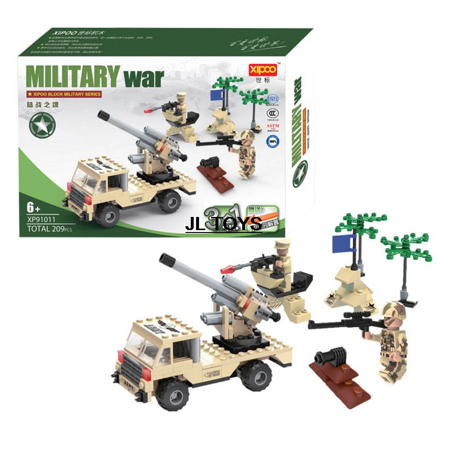 3in1 DIY Military war bricks soul of the Marines Armored Car assemblage building block Army minifigures compatible with lego(China (Mainland))