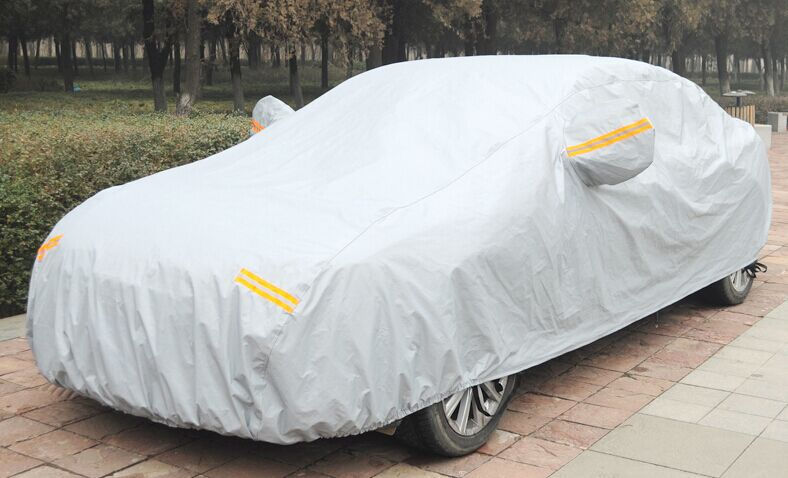 Car covers Car clothes Sunscreen tarpaulin Car set Nylon and Cotton all inclusive Auto Body Customizable car model S M L XL XXL(China (Mainland))