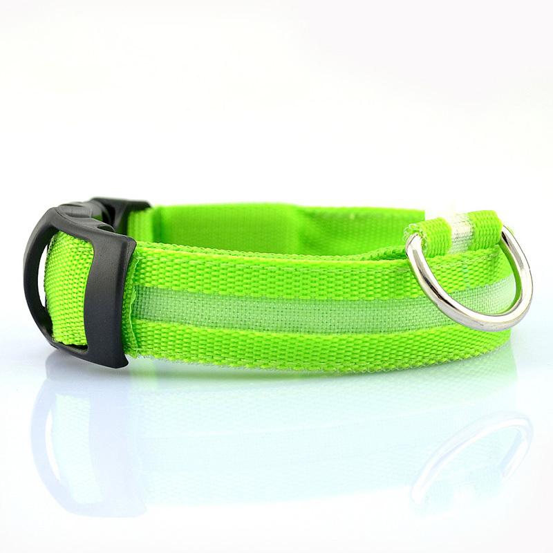 Pet Shop Free Shipping Pet Dog Collars For Dogs Pets Cats Glow Led Collars Productos Para