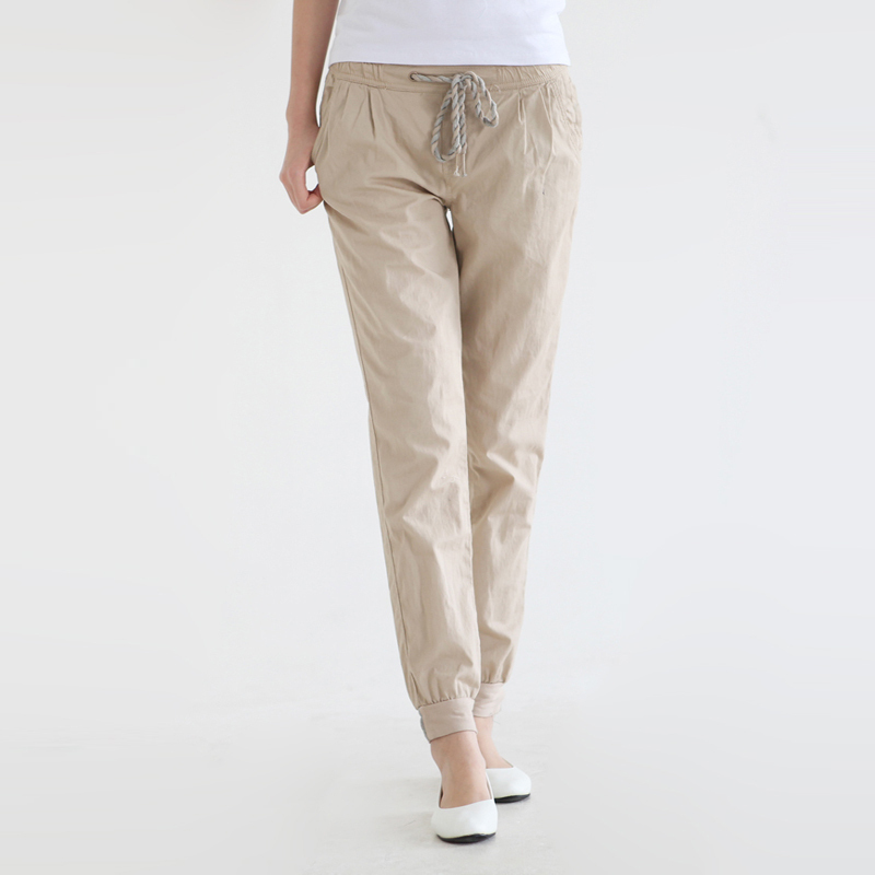 Excellent Hot Selling Casual Women Cotton Pants Pencil Sweat Pants Straight