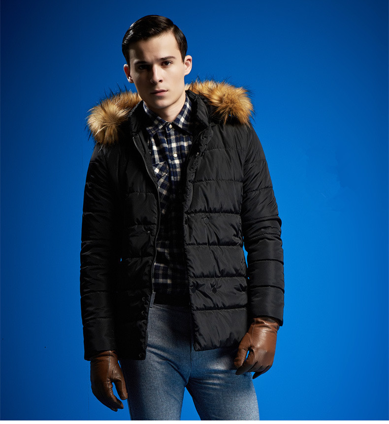 Men winter jacket men Warm 90 duck down coat 2015 Hot Sale Men s Solid Causal