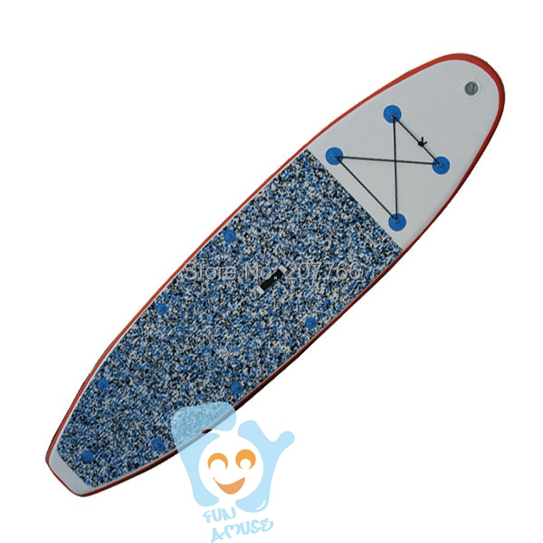 10 Foot 304cm Inflatable SUP Paddle Surf Board Standing Up Paddling EVA Surface(China (Mainland))