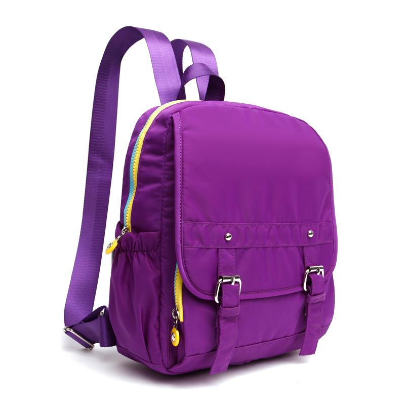 2016 New Woman Backpack Hot Sale Nylon Waterproof School Bag ...