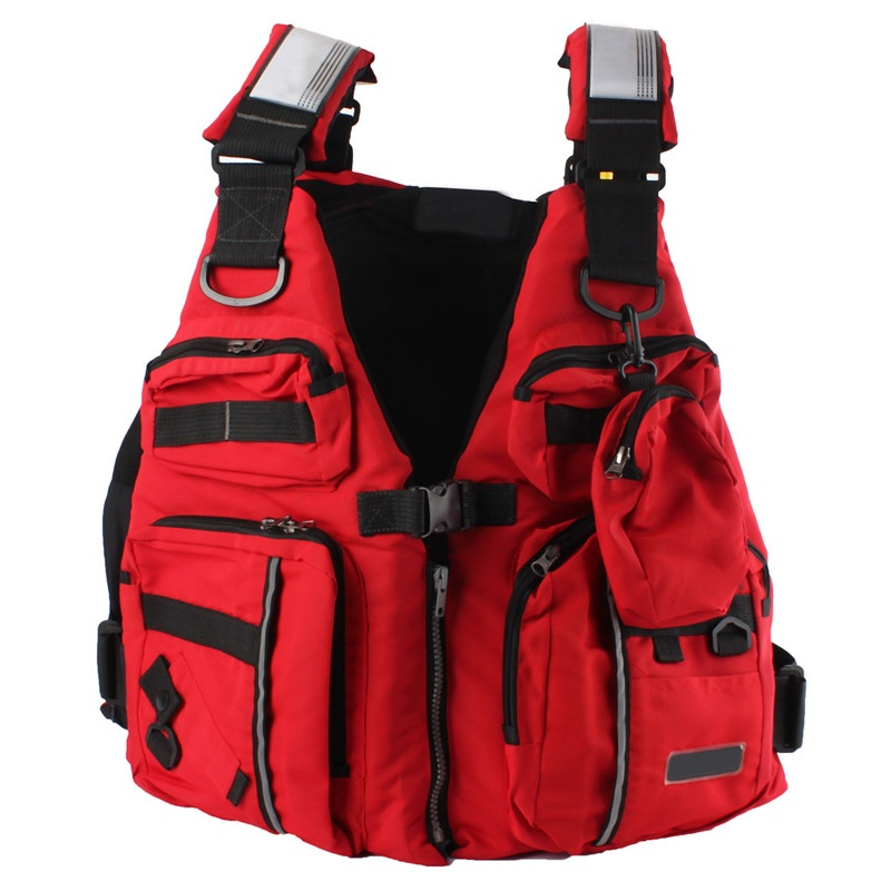 New Detachable Adult Life Jacket Vest Aid Sailing Surfing Fishing Kayak Boating Outdoor Sports With ManyPockets(China (Mainland))