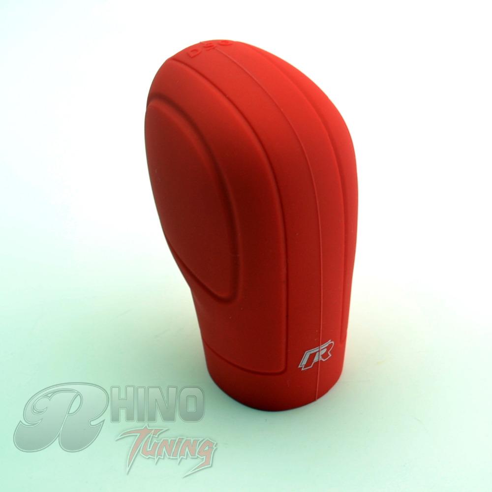 Soft Silicone Car Gear Shift Knob Cover for Santana Touran GOLF6 GOLF7 Car Ac