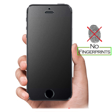 Tempered Glass Screen Protector for iPhone 5 5s 5c SE 6 6S Plus 4 4s HD Clear Matte No Fingerprint Anti-glare Frosted Film