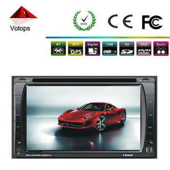 Universal factory price touch screen 2 din car dvd car video built-in games gps bluetooth am fm radio tv