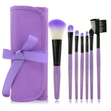 7 PCS Professional Make up Brushes Foundation Brush Cosmetic Set Kit Tools Eye Shadow Blush Makeup Brush