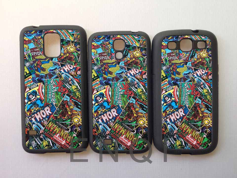 sell Marvel Comic Book Covers Take 2 Soft Mobile phone protective shell Cover Case for Samsung Galaxy S5 s4 s3 Free shipping(China (Mainland))