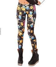2014 New Fashion Women Space print Pants Galaxy Leggings fitness punk women legging(China (Mainland))