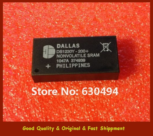 Free Shipping DALLAS SEMICONDUCTOR DS1230Y-200 DS1230Y-200+ DC# 1047AOriginal(China (Mainland))