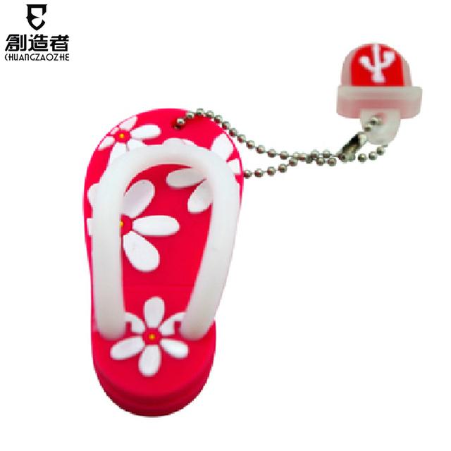 Usb flash drive 8g small slippers cartoon usb flash drive personalized usb flash drive