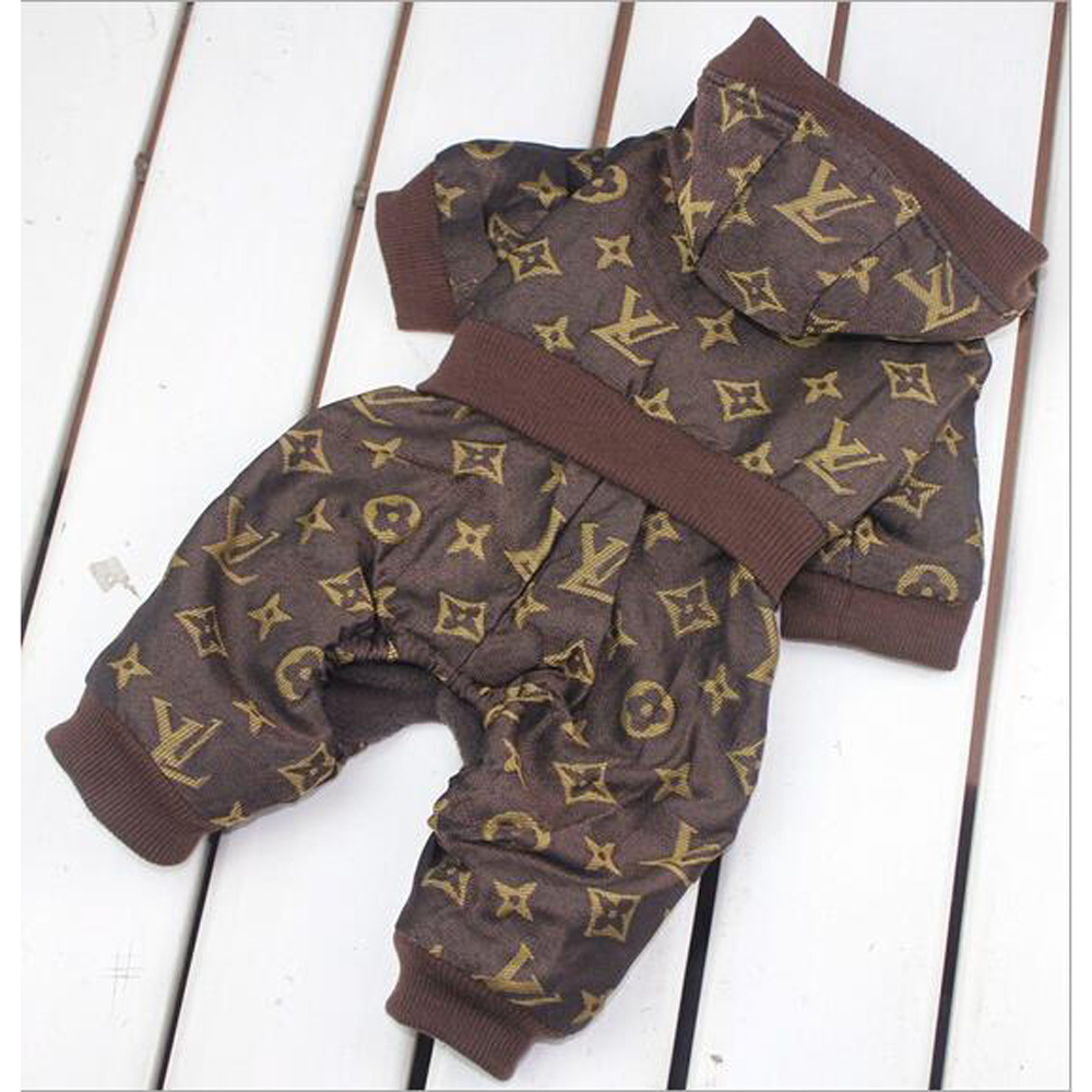 Brand Winter Designer Dog Clothes printed Soft Cotton Clothes For Dogs pet clothes for small dogs chihuahua coat hondenkleding(China (Mainland))