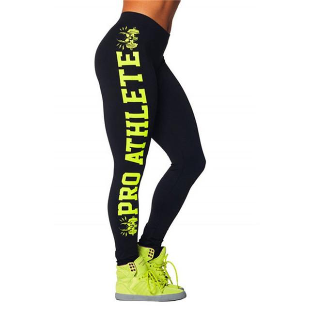 Женщин спортивные леггинсы фитнес RunningTraining бодибилдинг гамаши печатные тренажерный ...