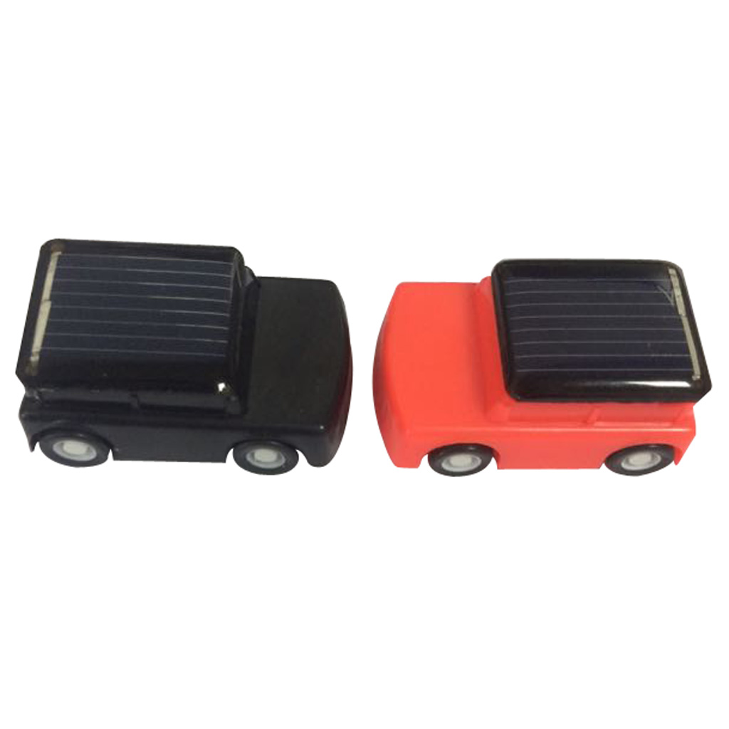 High Quailty Kids DIY Assemble Solar Powered Educational Toy Mini Solar Car Red & Black Classic Solar Toy for Children Girl Gift(China (Mainland))