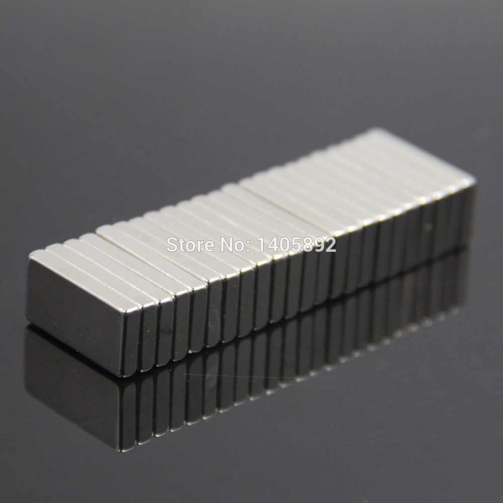 200pcs Super Powerful Strong Rare Earth Block NdFeB Magnet Neodymium N35 Magnets F20*10*3mm- Free Shipping<br><br>Aliexpress