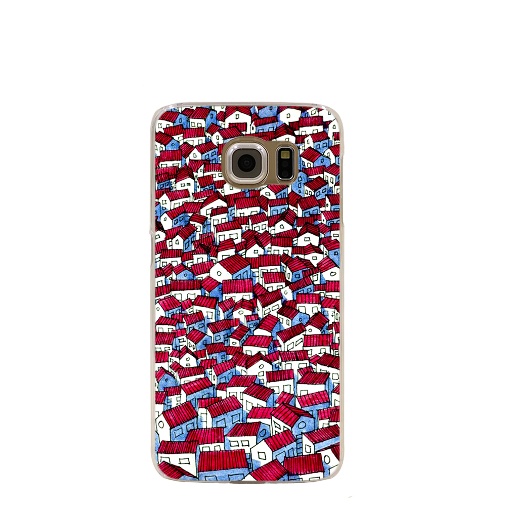 11712 Red Roof cell phone case cover for Samsung Galaxy S7 edge PLUS S6 S5 S4 S3 MINI(China (Mainland))