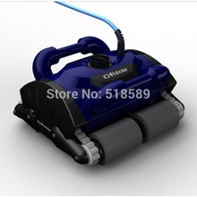 Robotic pool cleaner with 30m cable,swimming pool robot vacuum cleaner,swimming pool cleaning equipment with caddy cart CE ROHS (China (Mainland))