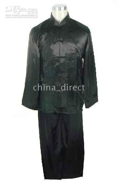 Art Chinese,Tai Suit,silk uniform Tops Pants 6sets/lot Kungfu suits Martial