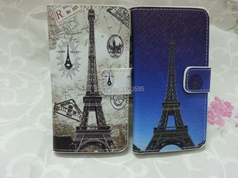 Samsung Galaxy S3 SIII i9300 I9308 Case Paris Eiffel Tower vintage PU Leather Flip Cover - Wonderful phone holster shop store