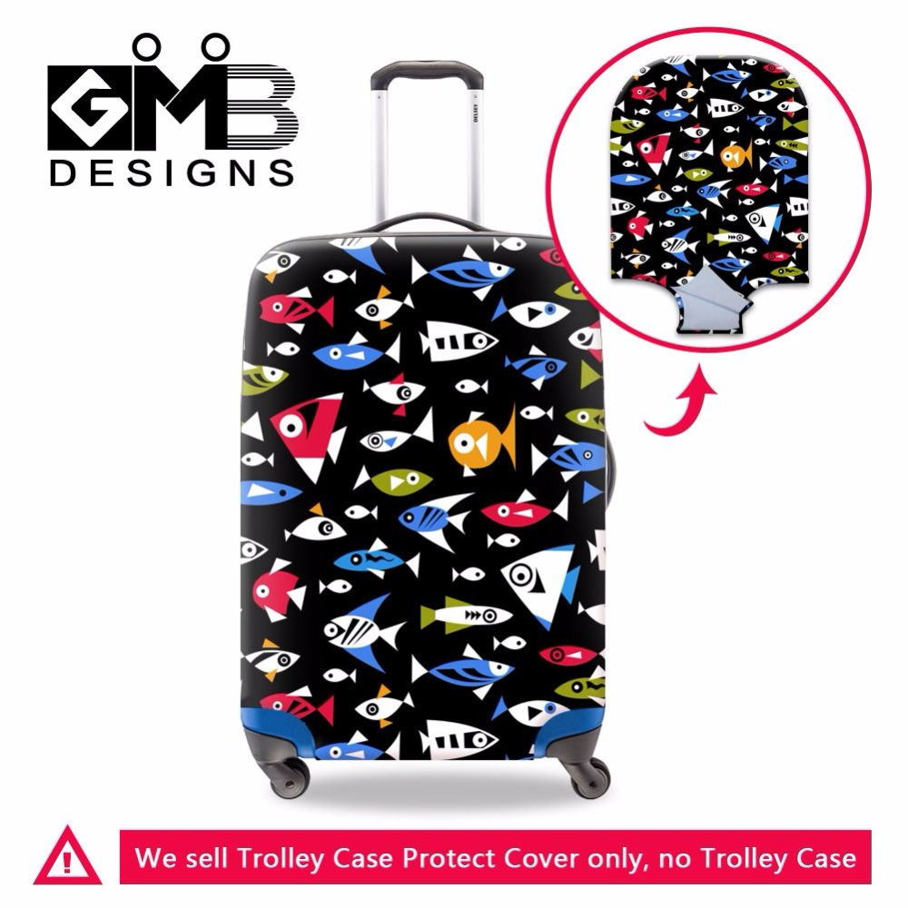 5 kinds luggage suitcase trolley case protective cover apply to 18-30 inch travel case waterproof luggage protective dust cover(China (Mainland))