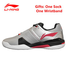 Buy Li-Ning Men's Professional Tennis Shoes Hard Wearing Stability Support Anti-Slippery Sneakers Sports Man's tenis masculino Shoe for $65.33 in AliExpress store