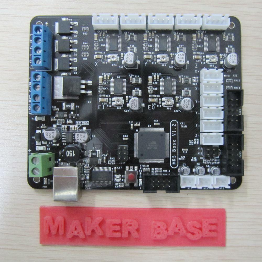 3D printer control board MKS-BASE development board V1.2 board RepRap Ramps1.4 compatible<br><br>Aliexpress