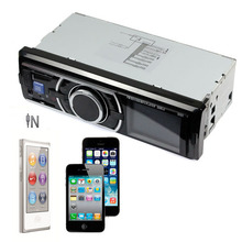 New Car Audio Stereo In Dash FM Receiver With Phone MP3/4 Player SD USB Input AUX (China (Mainland))