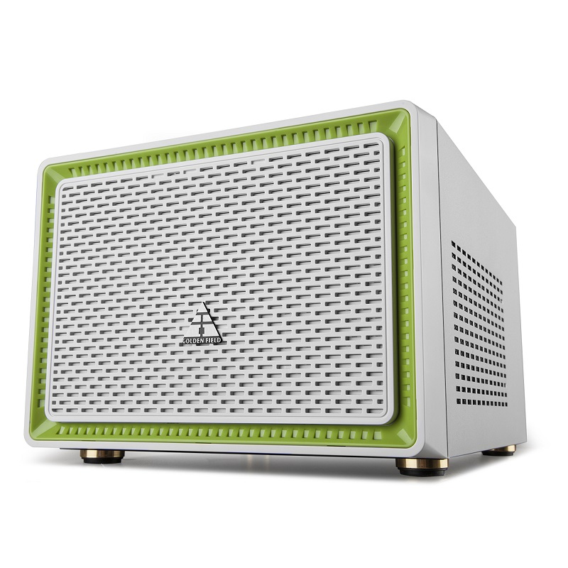 Golden field n1 computer case desktop mini itx e for ht pc water cooled white(China (Mainland))