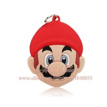 Fashion Party Kids Gifts 1PCS Super Mario Cartoon Pendants Necklaces For Keychains Key Rings Travel Accessories(China (Mainland))