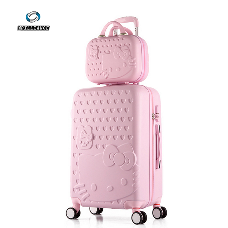 20+12inch High quality Trolley suitcase luggage traveller case box Pull Rod trunk rolling spinner wheels ABS+PC boarding bag<br><br>Aliexpress