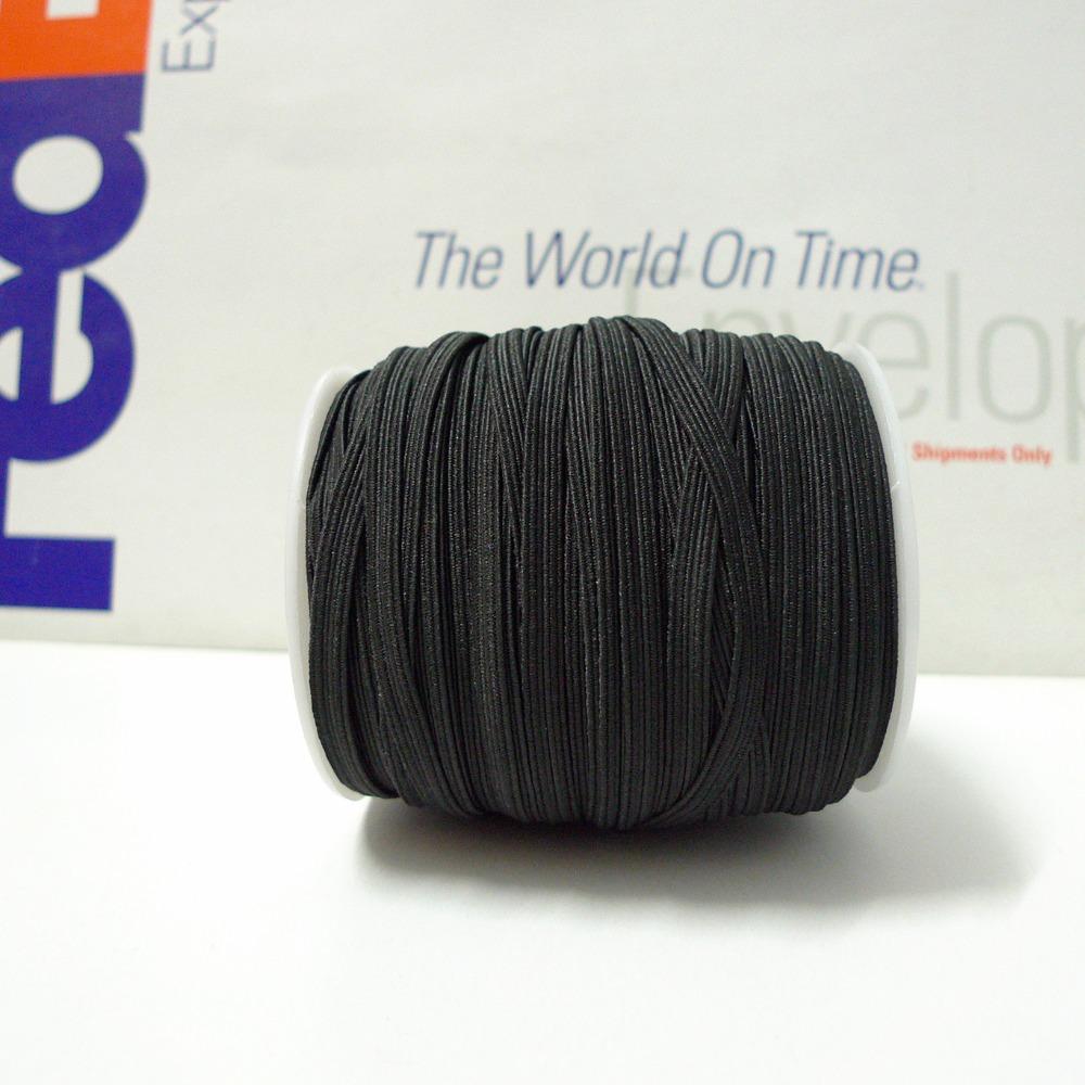 1/4 '' 6 мм # 28 черный тощий волос резинка вы выбираете цвета