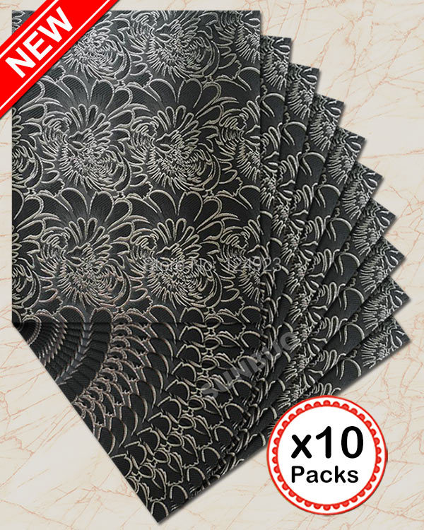 Free shipping by DHL plain black African SEGO headtie Head tie Gele wrapper Scarf 10 packs /Lot HD259(China (Mainland))
