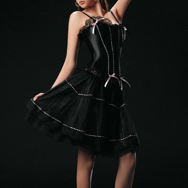 Sexy Corset Dress Waist Corsets And Bustiers Hot Shapers Steampunk Skirt Gothic Waist Corsets Women Corpete Corselet