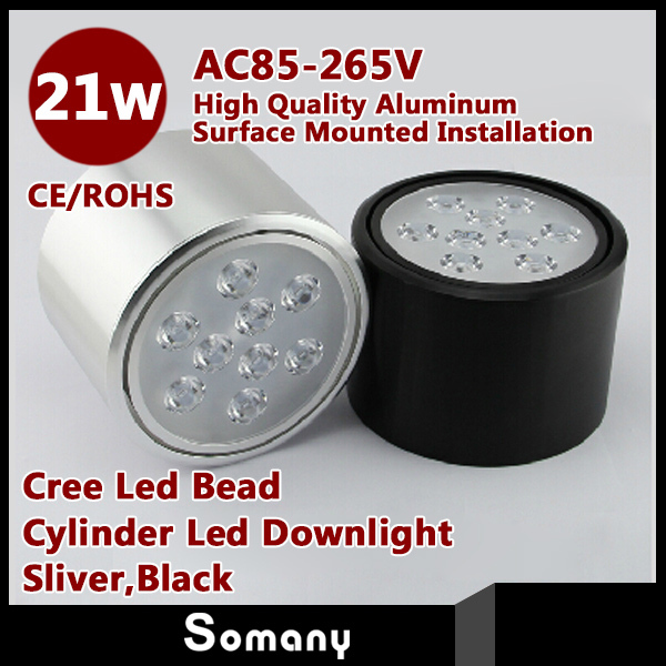 Fancy DownLighting Led Bead AC85-265V Discount Wholesale 4pcs/lot 21W for Bed Room Living Room Kitchen Foyer Study<br><br>Aliexpress