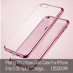 Luxury Cover for S6/S6 edge S7/S7 edge Flash LED Light Selfie Phone Case for iPhone 6/6S 6 Plus/6s plus Luminous Cover HU786